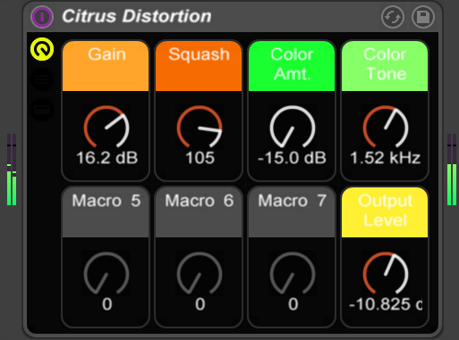 Citrus Distortion Screenshot